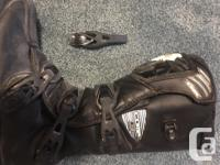 FOX Comp 3 youth size 8 or euro size 41 dirtbike boots