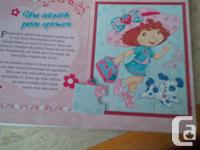 Fraisinette Puzzle Book (French) Unique book with