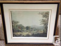 Photo 1 Framed print LOUIS REMY MIGNOT LAKE PARTY AT