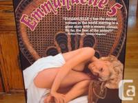 Framed Movie Posters (2) - Emmanuelle 5 and Paradise.
