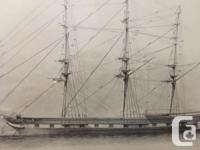 Illustrative prints of rigging and sails Complete with