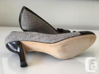 Beautiful Franco Sarto Herringbone Pumps perfect for