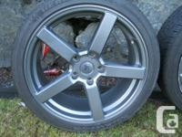 Set of four FRD wheels 18x8 with a 5x114.3 (4.5) bolt