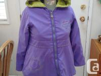Save and buy used! Carter's brand (size 6x) With hood.
