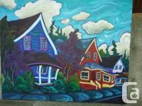 Fred Peters Houses' on main street Chemainus Original