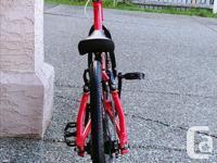 Lightly used Micro mini Bmx Bike. Very good condition,