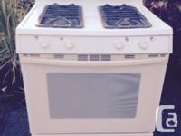 """Jennair. 30"""" wide. Needs servicing as the oven control"""