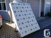 Free queen mattress and bed spring. Need gone ASAP,