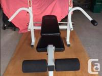 Selling my weight bench as I'm no longer using it.
