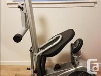 Free Spirit recumbent biking rowing machine. Works