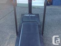 """Free Spirit"" treadmill model MM-2131.  Excellent"