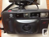 Minolta Freedom AF35 Film Camera like new with package