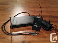 Sennheiser Freeport wireless guitar pack, utilized