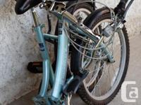 The Freespirit Metro 20'' bike is very easy to fold and