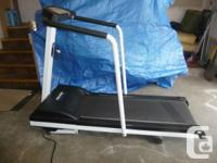 Free Spirit Treadmill: $225 OBO. * Softrak running