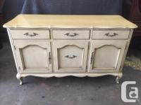 very pretty French Provincial style sideboard made in