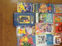 have about 36 french vhs children movies asking 4 for
