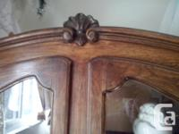 oak cabinet made in france over 100 years old excellent