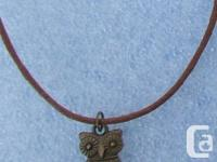 Brass Owl with any sort of shade lobster clasp