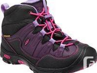 A terrific children hiking boot in brand-new problem.