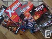 4 like-new X-Men comics - never ever checked out, never