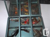 TEN LURES FOR $10.00 OR 20 FOR $16.00 ALSO APP. 50 FLYS