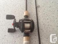 A 7ft ugly stick Shakespeare rod with a Abu Garcia for sale  British Columbia