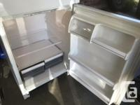 Smaller 14.8 cu.ft. Norge fridge $30 and Danby Freezer