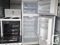 "apt size 24"" almost new fridge and stove se extra clean"