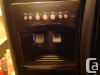 Fridgidaire Side by Side Fridge with ice make/water