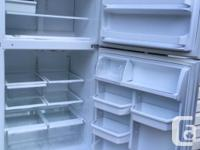 "Kenmore Fridge 33"" wide, with icemaker Self cleaning"