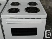 I have a Frigidaire stove for sale. It is white, 13 yrs