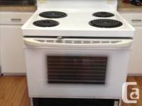 Utilized condition frigidaire fridge with matching