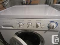 Works great, but no longer needed. Front load washer,