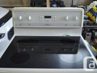 "Frigidaire 30"" self-cleaning stove. 4 burner, class"