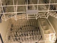 This is a Frigidaire stainless steel dIshwasher in good