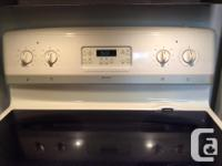7year old stove in immaculate condition. Convection