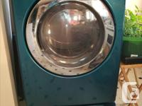 After washer died, replaced both machines. Dryer works