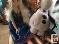 My Size Disney Anna and Elsa, 3ft tall, plus stuffed