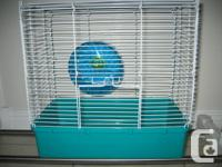 "Hamster Cage (W)19"" x (H)19"" x (D)15"" , an exercise"