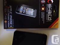 For sale: iPhone 4 Black 16GB  In pristine condition,