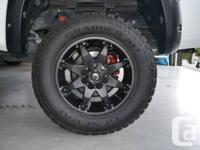 Fuel Rims & General Grabber Tires $2400  These Rims &