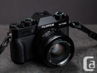 Looking for a good used Fuji X-T10 or X-T20. I'd be