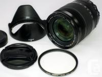 Selling a gorgeous Fuji lens for the X system, priced