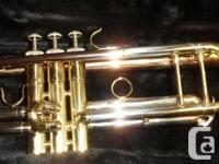Fujiama FTR4325 Trumpet. Good Condition. Stock#37140-1