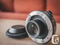 Hi, I'm selling my Fujifilm Teleconverter Lens XF1.4X