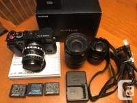 Lightly used Fuji XPRO2 rangefinder mirrorless camera