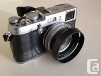 Selling mint condition FujiFilm X100S camera, rarely