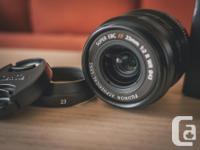 Hi, I'm selling my Fujifilm XF 23mm f/2 R WR (Black)