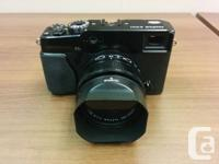 For sale, Fujinon XF 35mm f1.4 R lens and UV filter.
